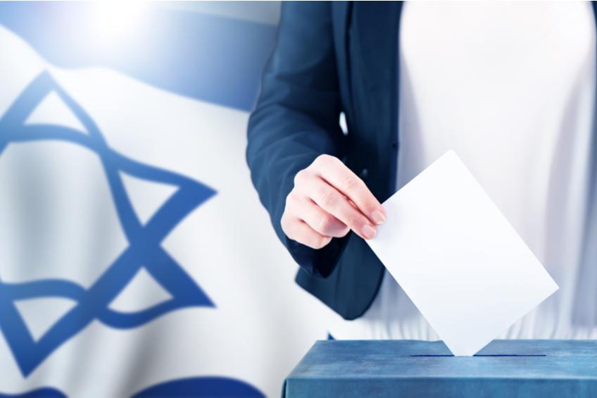 izrael volby