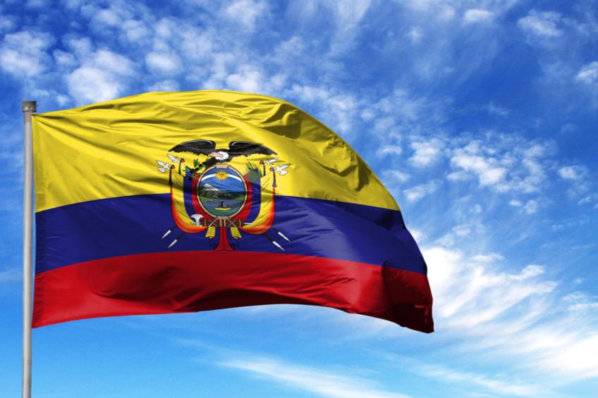Vlajka Ekvador