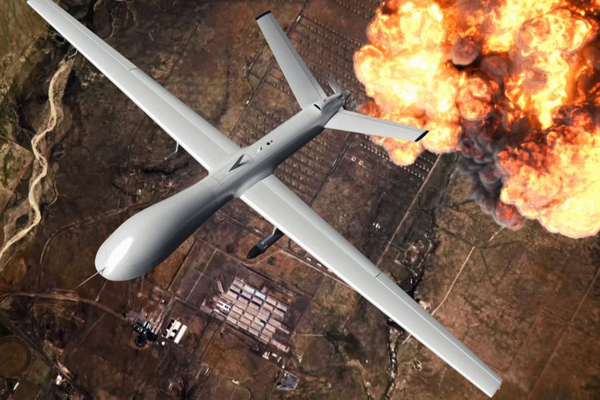 letecky bombovy utok