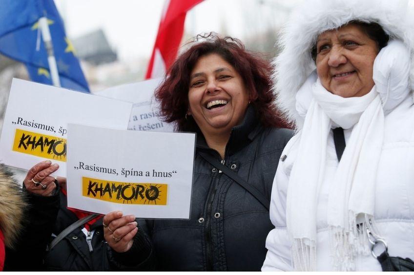 romove demonstrace